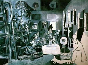 """quadro """"As Meninas"""", Museu Picasso, Barcelona"""