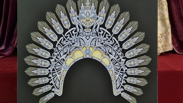 Álvaro Abril diseña una diadema para la Virgen del Dulce Nombre de Bellavista