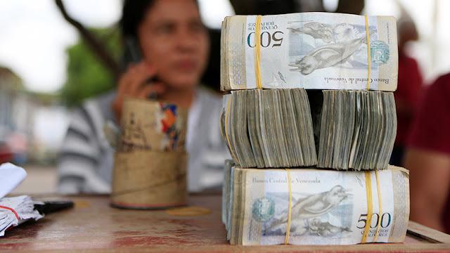 El FMI estima una hiperinflación de hasta 10.000.000% para Venezuela en 2019