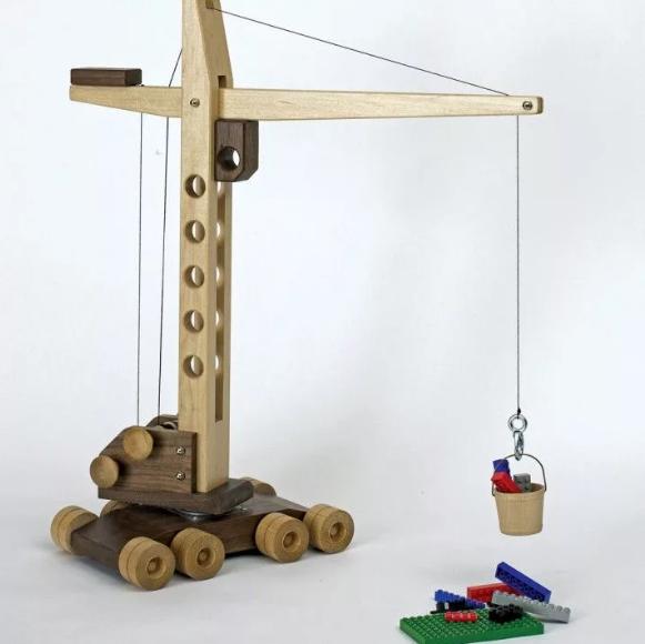 выпиливание игрушки из фанеры