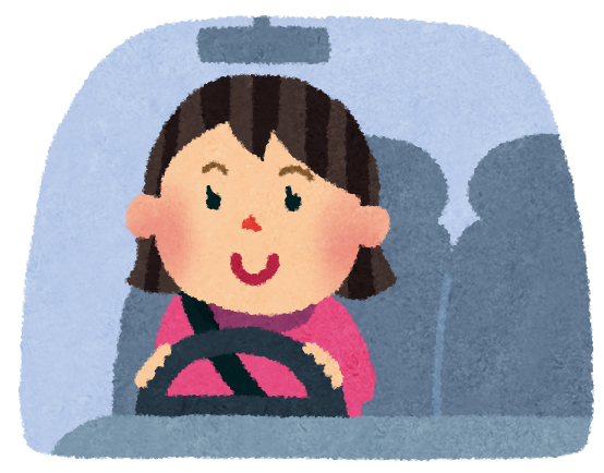 Woman Driving Car Images