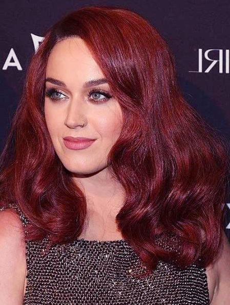 Haarfarbe Kastanienrot