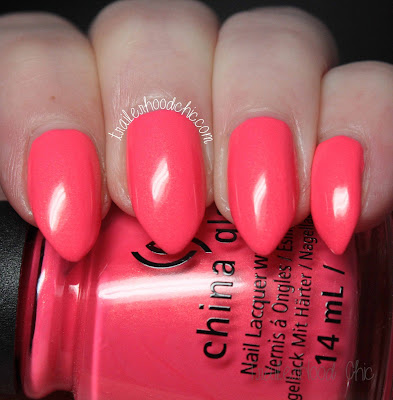 china glaze lite brites collection swatch bite me