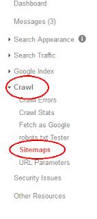 Panduan submit sitemap dan feetch as google di web master tools