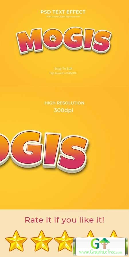GraphicRiver Mogis 3D Game Logo Text Effect 26999525