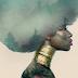 Penteados afros, flores e magia