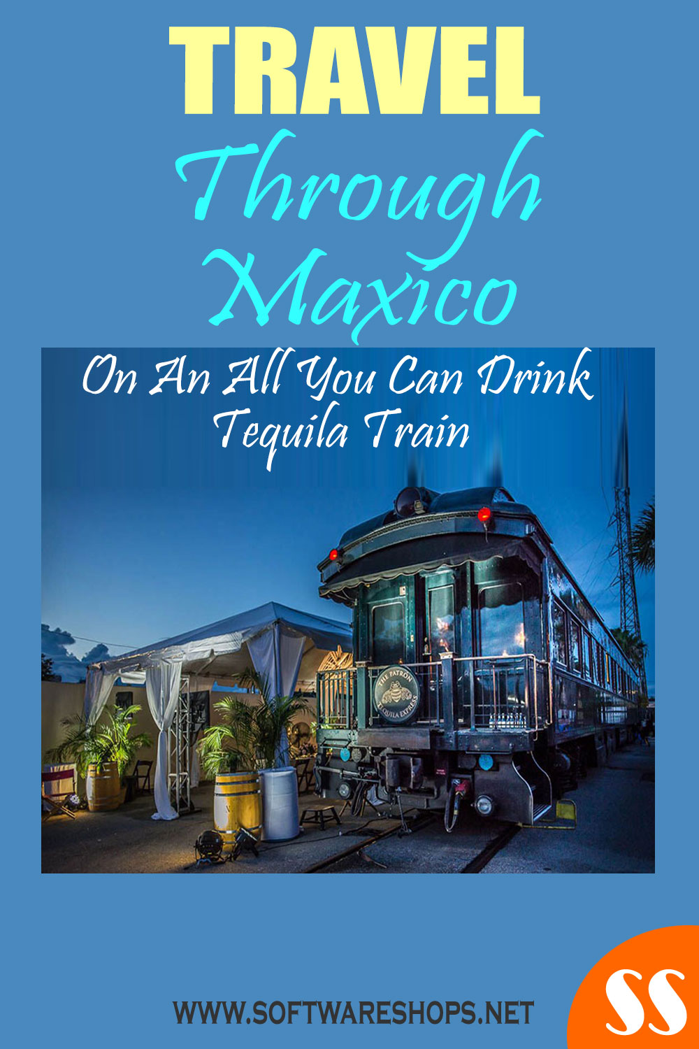 Travel through Mexico on an all-you-can-drink tequila train