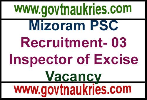Govt Jobs for Mizoram