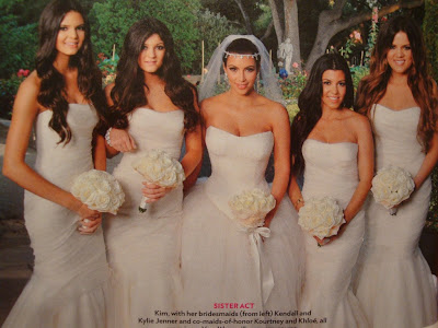 3 Fotos oficiais do casamento de Kim Kardashian...!