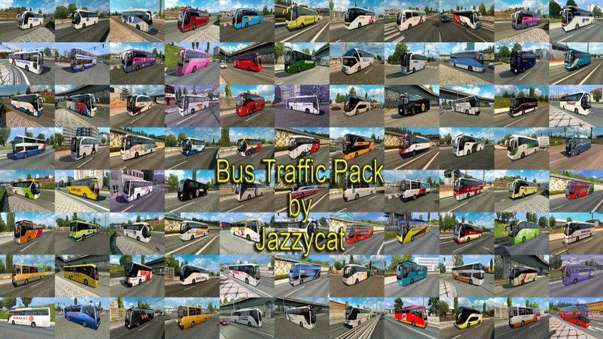 Jazzycat – Bus Traffic Pack 4.0