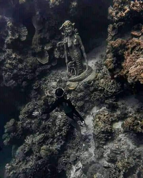 Medusa Statue can be found in Alegria, Cebu- Where and How to go there?