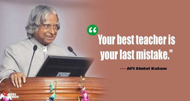 Abdul Kalam Quotes on education