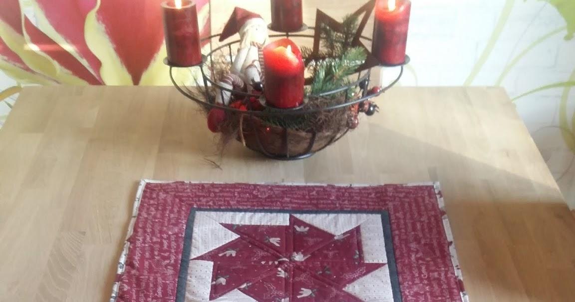 einfach tanni 39 s geschafft der weihnachtliche tischl ufer. Black Bedroom Furniture Sets. Home Design Ideas