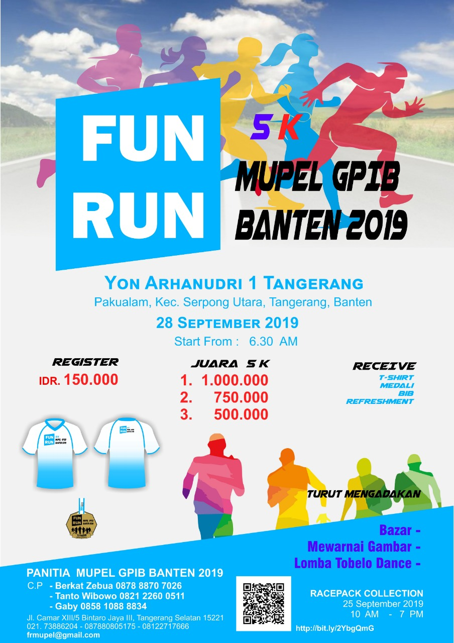 Fun Run 5K Mupel Banten • 2019