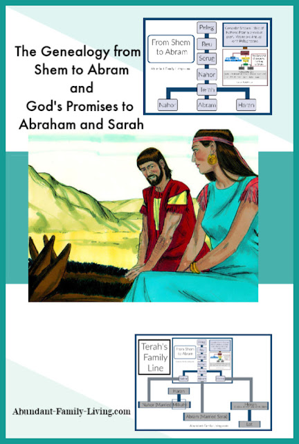 "God told Abram, ""I will make you into a great nation, and I will bless you; I will make your name great, and you will be a blessing.""  Learn about the story of Abraham and Sarah."