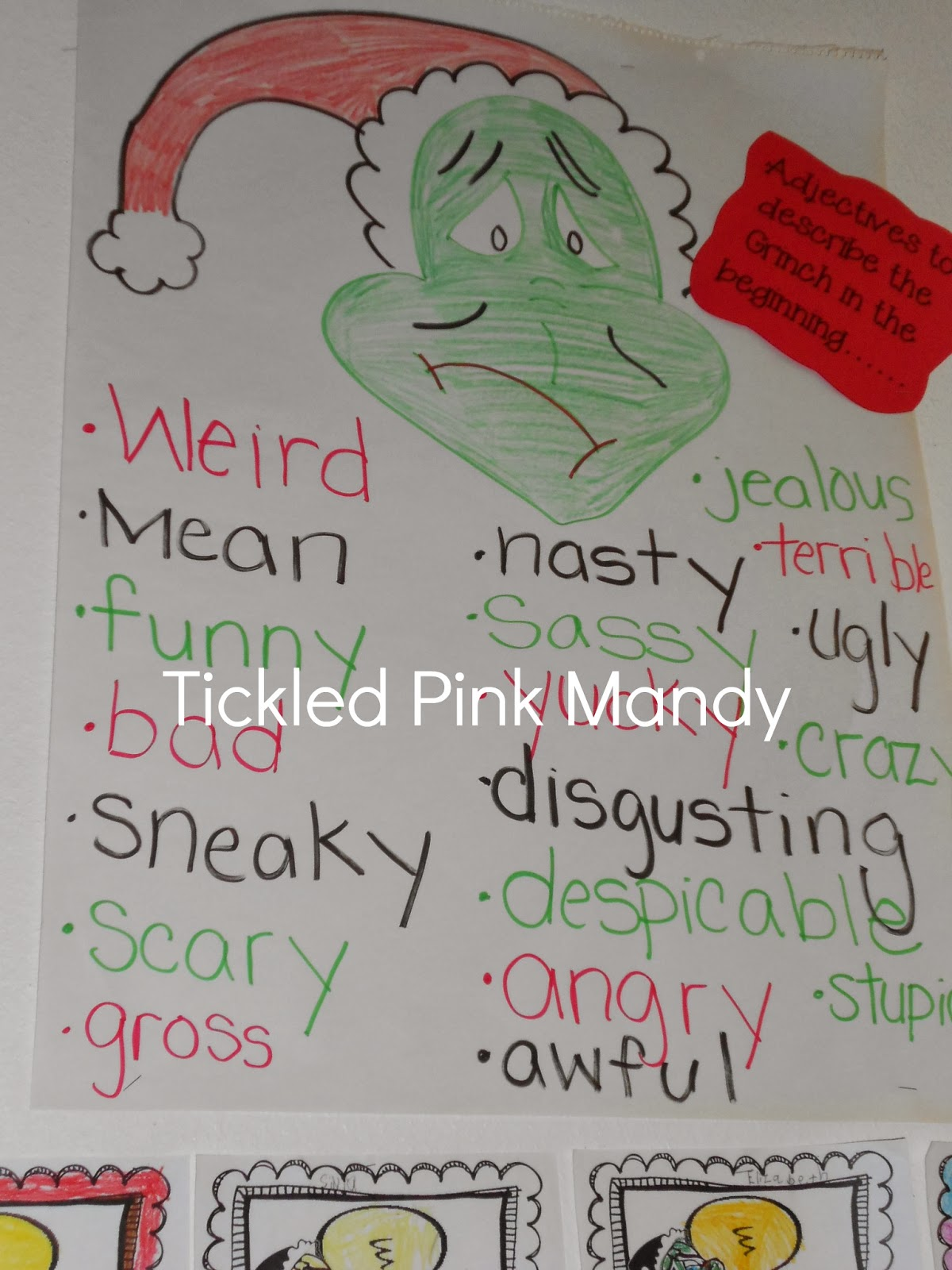 Grinch Day In Our Classroom