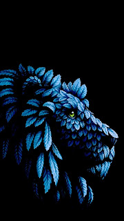 Natural Lion Mobile HD Wallpaper