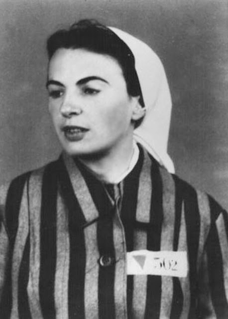 Orli Wald, an inmate registered at Auschwitz on 26 March 1942 worldwartwo.filminspector.com