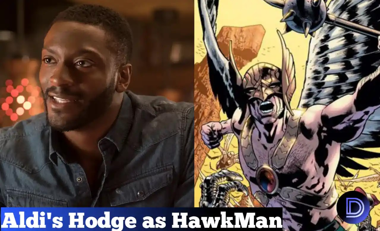 Aldis Hodge To Play Hawkman Role In Black Adam Movie