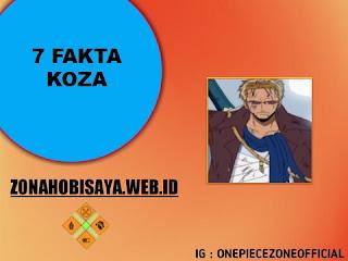 Fakta koza one piece