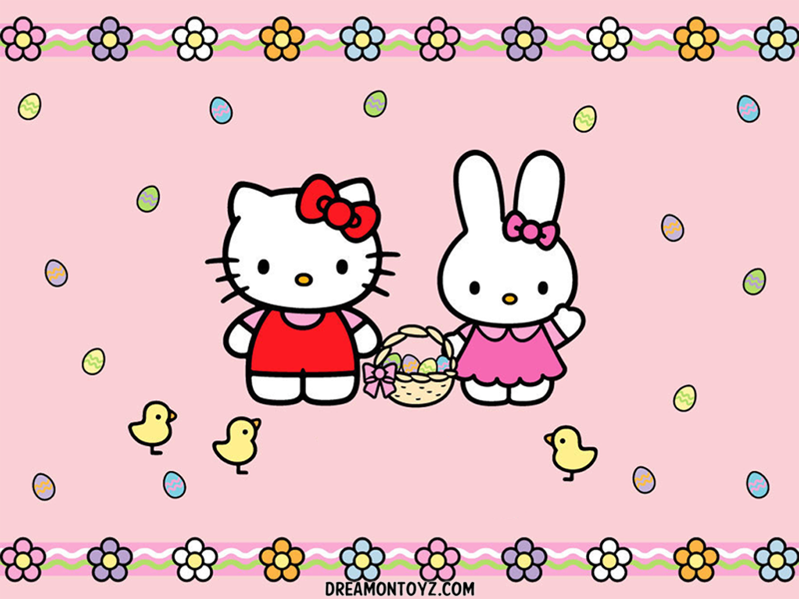hello kitty easter wallpapers - photo #2