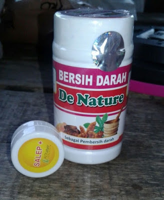 Obat Bisul Herbal de Nature Kapsul Bersih darah dan Salep Plus