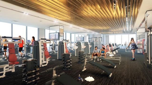 Phòng tập Gym BRG Grand Plaza