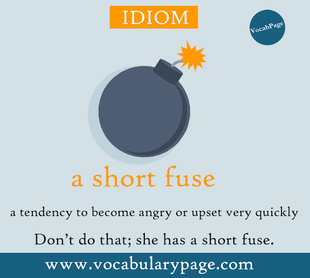 A short fuse idiom
