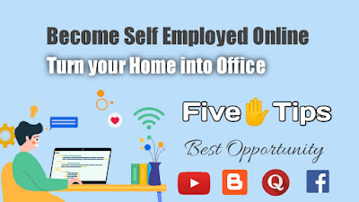 How to become Self Employed at Home? Step by Step Guide