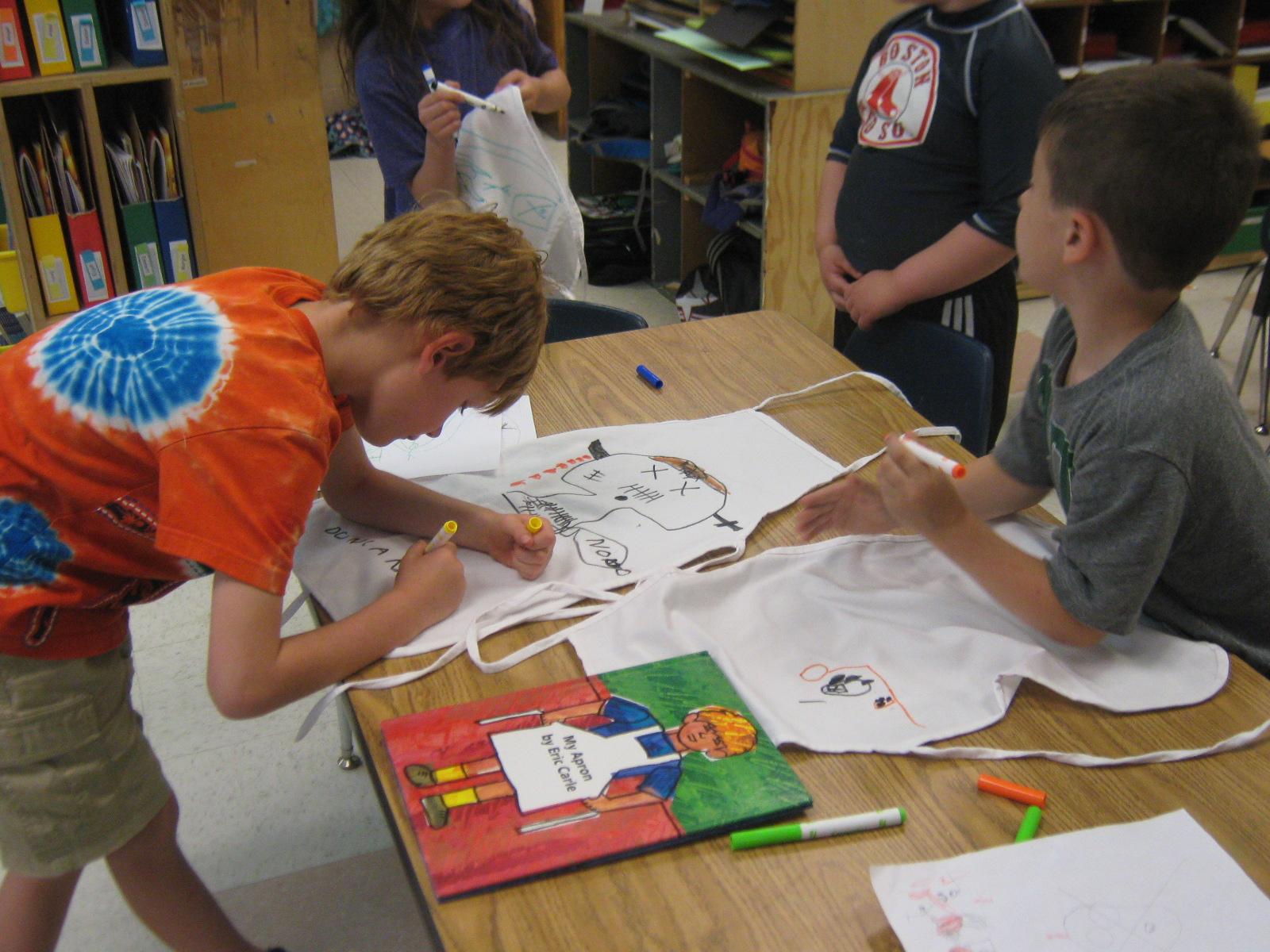 Kindergarten News Eric Carle Activities