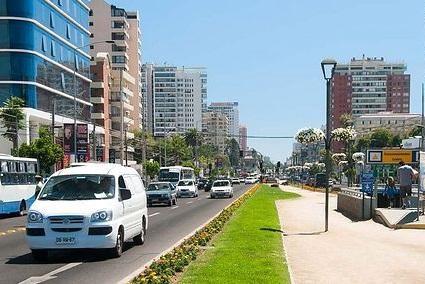 Como ir de Viña del Mar à Valparaíso de carro alugado
