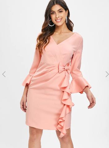 Zamówienie ze sklepu DressLily - sukienki.
