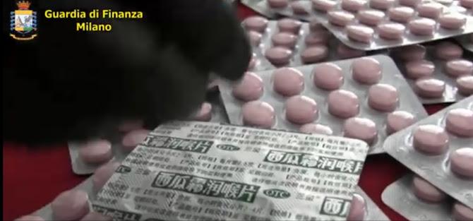 Sequestrati 500.000 integratori alimentari pericolosi per la salute e oltre 12.000 farmaci illegali in vendita come rimedio al covid-19