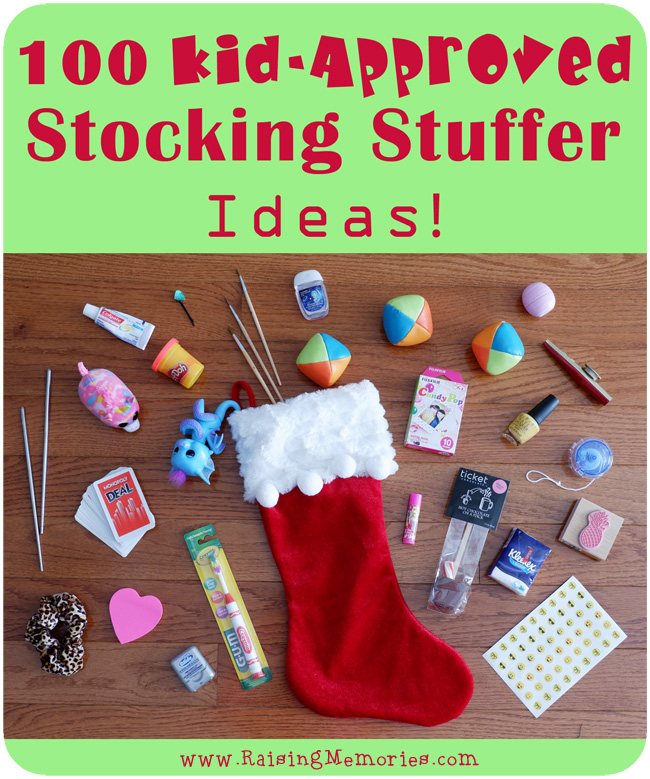 100 Stocking Stuffer Ideas for Kids
