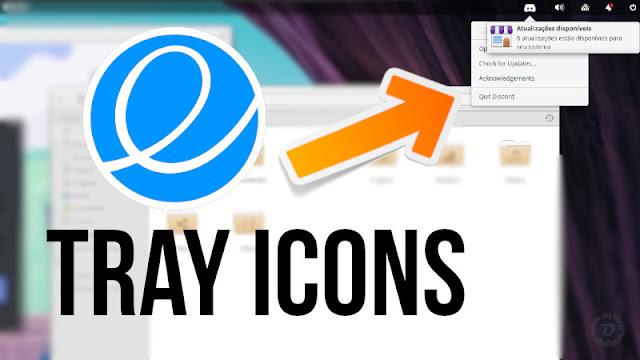 Como ter os ícones dos indicadores no elementaryOS 5.0 Juno