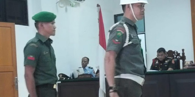 Aniaya Wartawan, Oknum TNI Di Meja Hijaukan Ke Pengadilan Militer