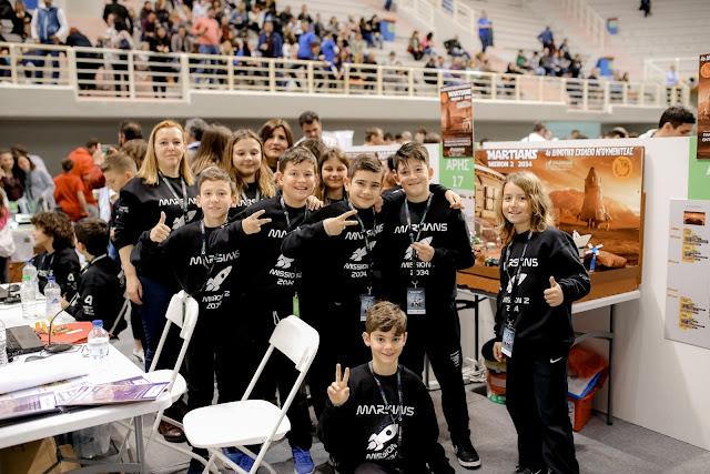 Μεγάλη διάκριση για το 4ο Δημοτικό Σχολείο Ηγουμενίτσας στον Πανελλήνιο Διαγωνισμό Ρομποτικής