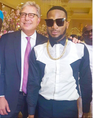 PHOTOS: Dbanj meets Don Moen