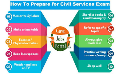 how to prepare for civil service exam 2020