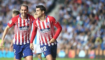 مشاهدة مباراة اتلتيكو مدريد وريال سوسيداد