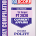 GS Score Target PT 2020 Indian Polity Current Affairs PDF Download in English