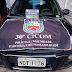 Polícia Militar recupera carro roubado utilizado em assaltos na zona leste