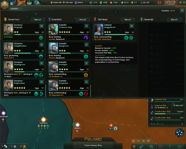 The Science Leader | Stellaris Screenshot