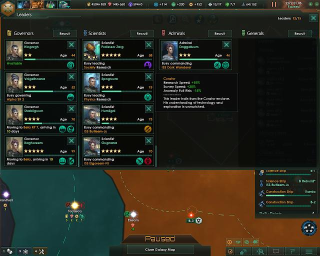 The Science Leader   Stellaris Screenshot