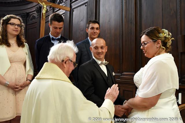 bénédiction des mariés église