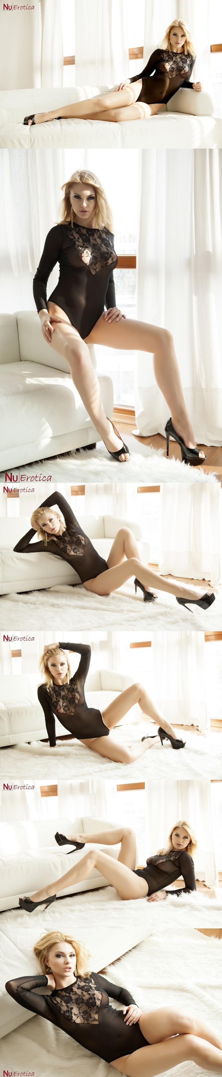 NuErotica 2015-08-11 Carla Sonre - Carla Sonre In Black LingerieReal Street Angels