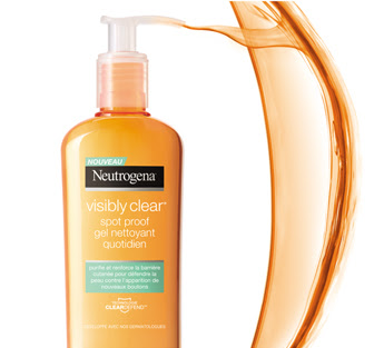 Gel Nettoyant Quotidien Spot Proof Visibly Clear - Neutrogena