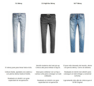 skinny jean, Levis, liveinlevis, 711 Skinny jean, 721 High Rise Skinny, 501 Skinny, Levi's, lifestyle, jeans, vaqueros,
