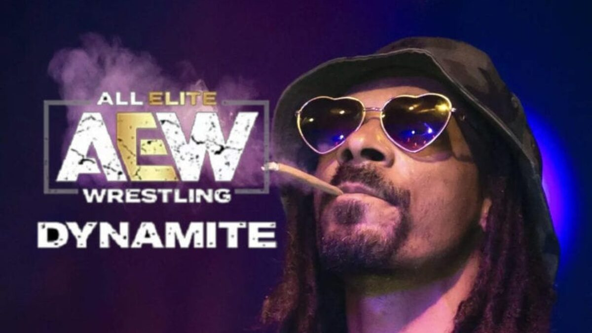 Snoop Dogg ainda aparecerá no AEW Dynamite