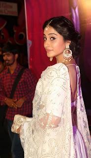 Regina Stills in White Lehenga Choli at Apsara Awards 2016 ~ Celebs Next
